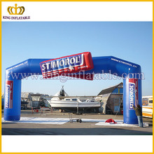 Outdoor events inflatable arch for sale, custom logo PVC inflatable arch
