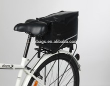 Waterproof Bicycle Rear Seat Carrier Pannier Bag High Quality wholesale Bike Trunk Rack Double Commuter Bag