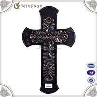 wood cross wall decoration , diy wood craft for wall hanging