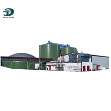 Biogas Power Plant, Biogas Digeste for Electric Power Supply