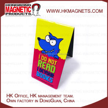 Custom Rubber Ferrite Compound Flat Magnet Magnetic Gift Bookmark