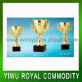 Custom Big Bowl Gold Metal Cup Trophies
