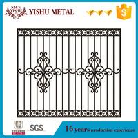 factory wholesale galvanized decorative wrought iron window grill