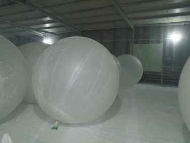 Inflating (Gym Ball, PVC Bulb, Weather Balloon)