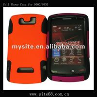Hot Selling Mobile Phone Mesh Combo Case Covers for BB 9500/9530