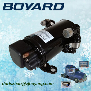 boyang r134a 12v dc air conditioner compressor 6000btu for portable 12v AC cooling