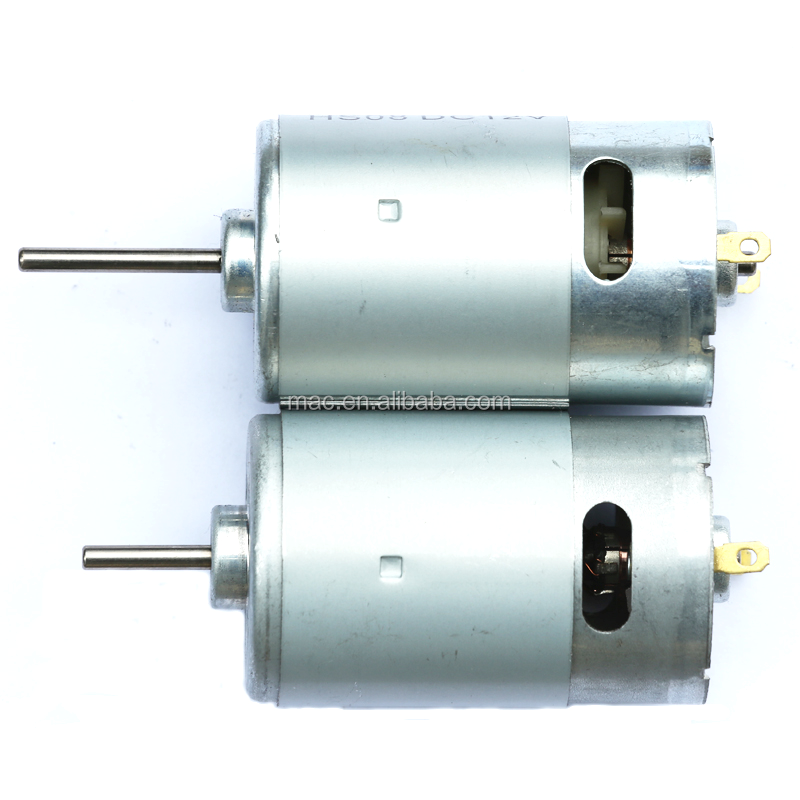 RS555 12v/24v dc motor for water pump and power tool
