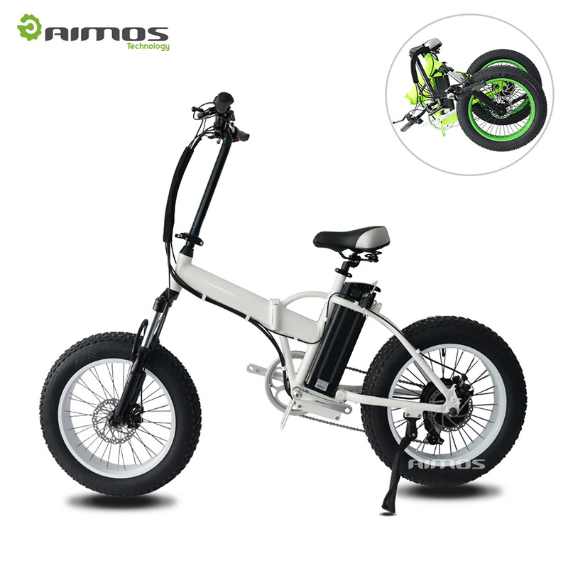 super powerful changzhou Aimos AMS-TDN-02 high speed 36V 350w 500w folding electric bike