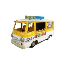 Vintage truck model decoration - Ice Cream Car With Music