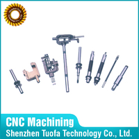 Customized CNC machining precision spare parts for sewing machine