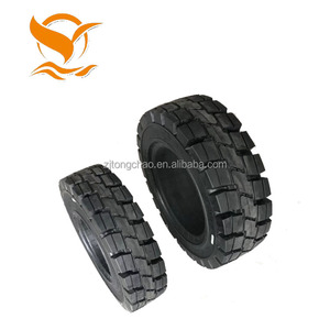 China factory supply 14 solid rubber tire for forklift 200x50