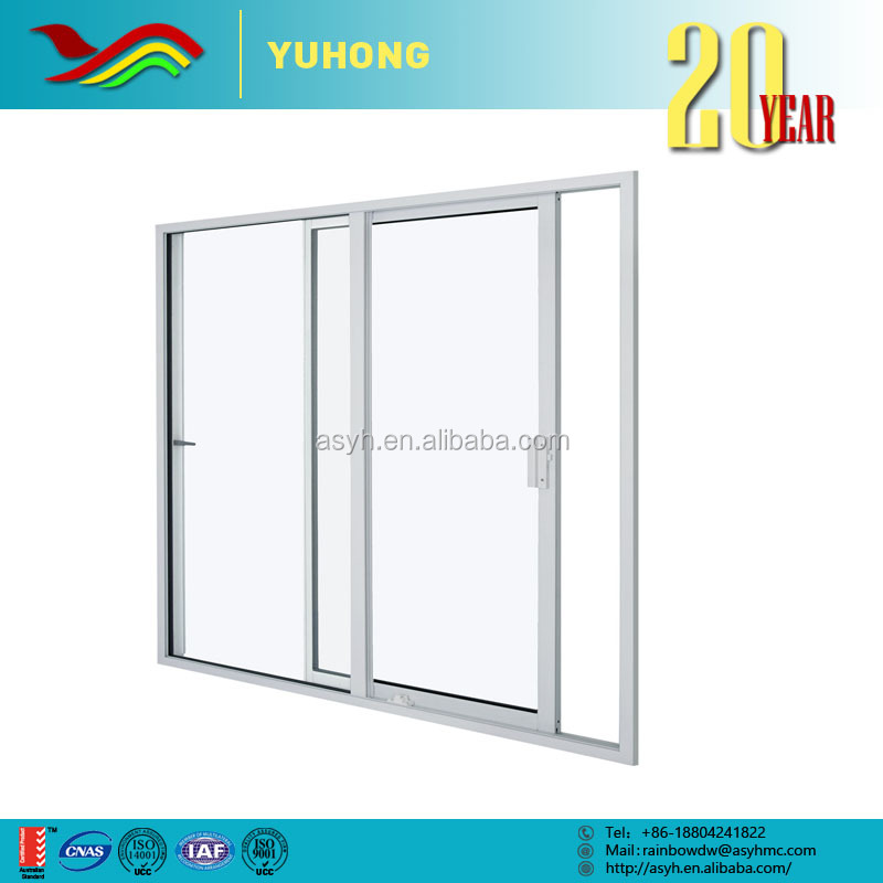 YH 2016 high performance customized design drawings multifunction sliding glass upvc door