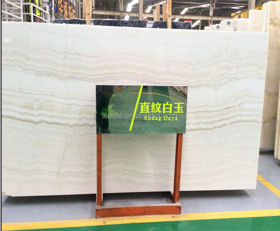 China Best White Jade Onyx Marble Stone