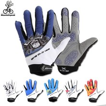Fashion Colored Full Finger Bicycle Winter racing Cycling Sports Gloves