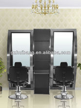 hairdressing salon styling stations mirrors design HB-B376