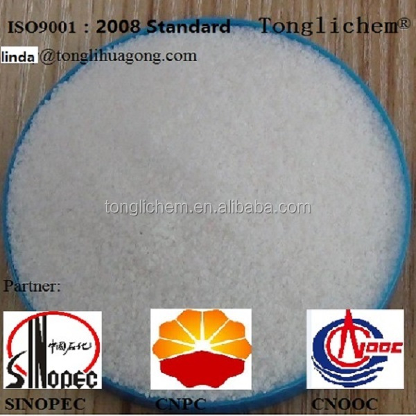 Hot sell China partially hydrolyzed polyacrylamide PHPA asoffshore drilling chemicals