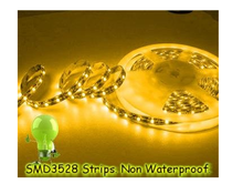 alibaba low price waterproof 12v 60leds SMD 3528 flexible led strip