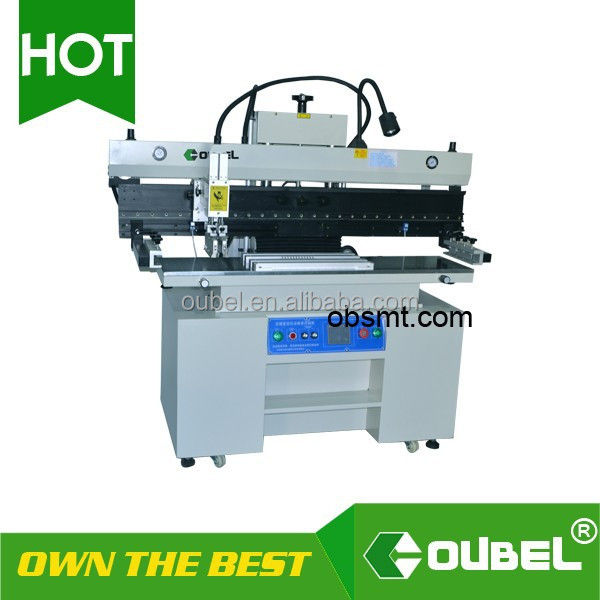 cheap screen printing press print names solder paste screen printer SMT printer