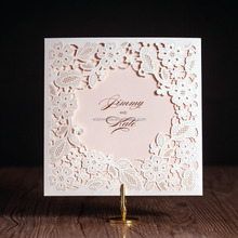 latest wholesale customized laser cut birthday /wedding greeting invitation card designs 2016 cw5197