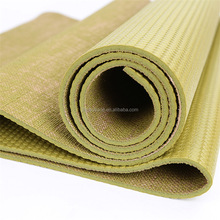Manufacturer Offer ECO-friendly Fitness Exercise Organic Jute Yoga Mat