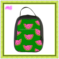 insulated neoprene lunch bag with zipper