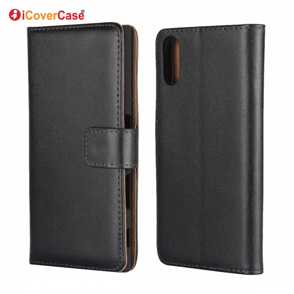 Wholesale Mobile Accessory Flip Cover Leather Wallet Cell <strong>Phone</strong> Case for Sony Xperia XZs with Credit Card Holder
