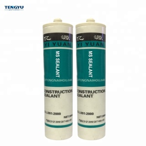 Strong Adhesion Low VOCs Long Service Life Good Weatherproof MS Polymer Sealant Tile Joint Anti-fungal Liquid Glue