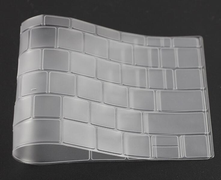 Custom thin dust proof water proof silicone keyboard cover with OEM service