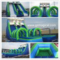 inflatable water slide mini park/kids water game inflatable amusemment slide