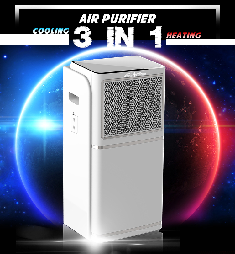 APG Air Cooler With Heater Water