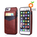 PU leather mobile phone cover printer with card holders