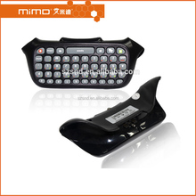 Newest Text Messenger Wireless Keyboard Chatpad Keypad Black Grey For Xbox 360 Wireless Controller