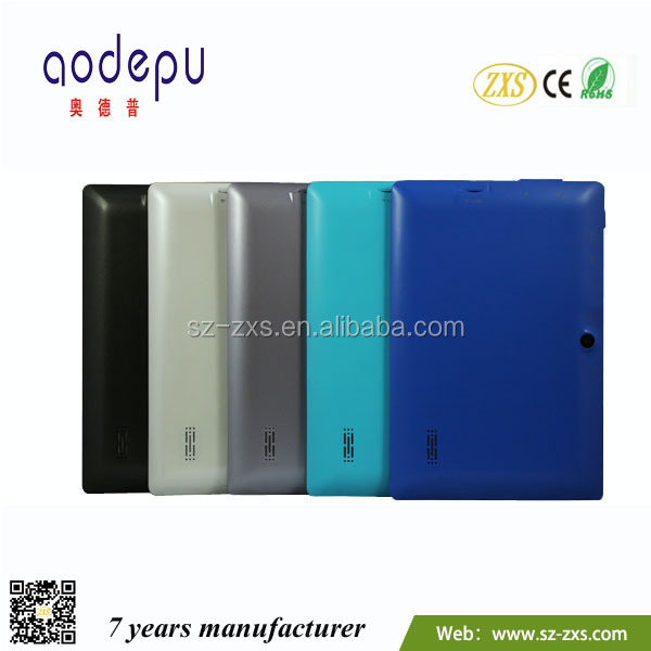 Zhixingsheng good quality mid mini pad 7 inch android tablet ZXS-Q88