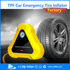 TPF Portable 12V rechargeable car air tyre inflator