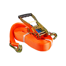 2 inch 50mm ratchet tie down straps/cargo lashing belt/ratchet lashing strap