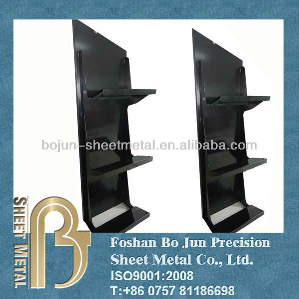 Powder coating counter metal display racks from professional OEM manufacturer in China