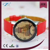 New design fashion girls watch Custom-made ladies stylish watches with leather strap