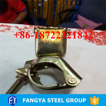 free samples ! types of clamps scaffold scaffolding double couplers