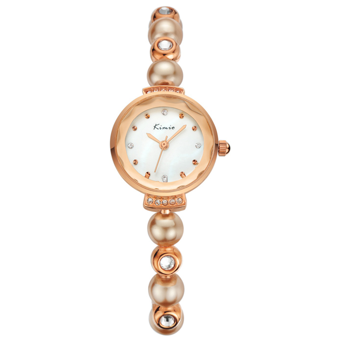 Lady Wrist Watch Charming Fashion Jewelry bijoux Women Pearl Watches