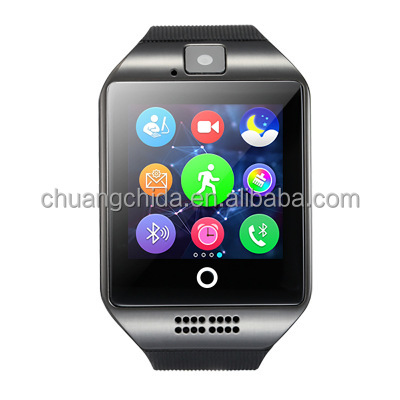 2019 Q18 touch screen gps smart watch with carma best gift for kids also sell <strong>A1</strong>,dz08,gt08 ,Y1 Watch