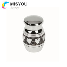 Wholesale good quality customizable style 316L Stainless Steel pet cremation urn