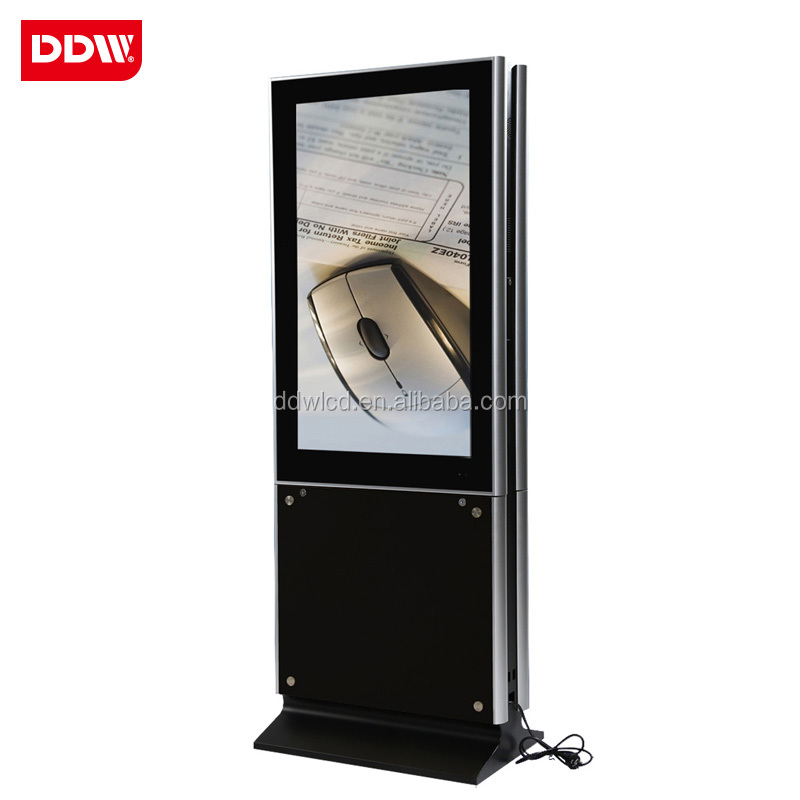 "Hot selling 55""/47"" double side screen lcd digital signage kiosk, dual screen lcd advertising display"