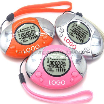 manual precise wristband stopwatch pedometer with CE,RoHS approval