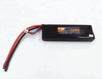 High capacity RC Helicopter 11.V 5500mah 35C Li-po battery pack