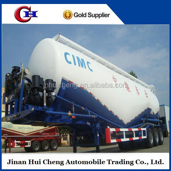 Best selling tri-axle cement bulker powder tank truck semi trailer