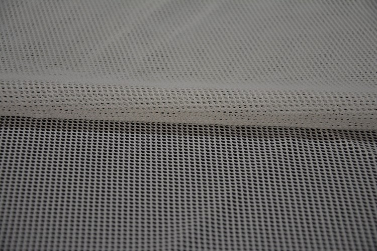 China manufacturer 100 Polyester Tricot Mesh Fabric Transparent For Hammock