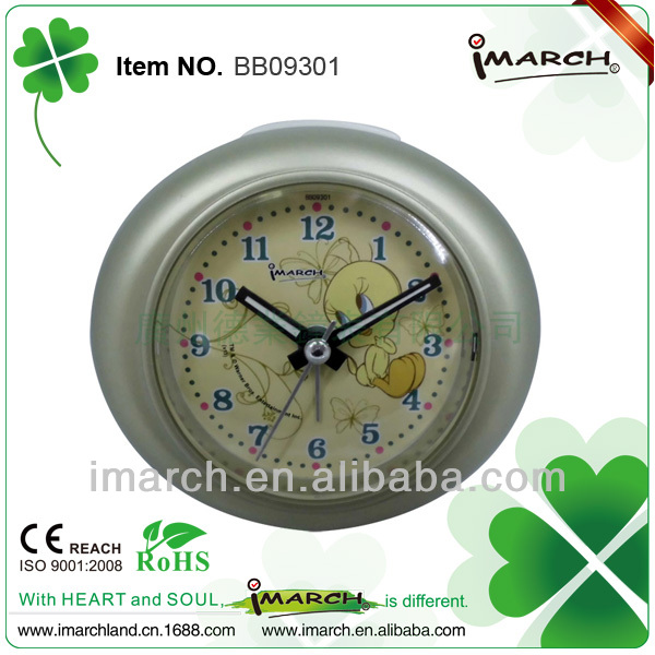 promotion cartoon clock,good shape clock 2013