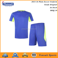 Wholesale on line reasonable price dry fit poloyester fabric training football set
