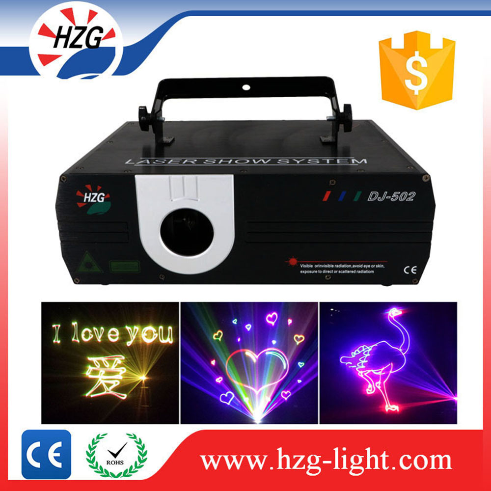 Complicated graphics Various laser beams 1w 2w 3w 5w 8w Animation show laser light with key switch