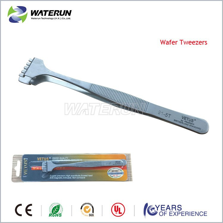 smart Vetus stainless steel wafer tweezers /Best wafer tweezers